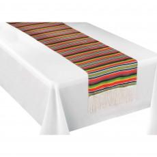 Mexican Fiesta Serape Table Runner