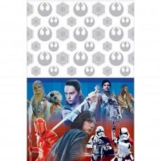 Star Wars VIII The Last Jedi Plastic Table Cover
