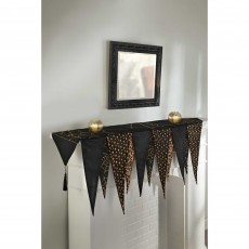 Halloween Party Supplies - Misc Decorations - Mantle Scarf