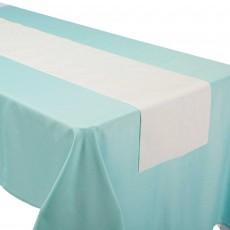 Iridescent Shimmering Party Linen Table Runner 33cm x 1.82m