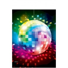 Disco & 70's Disco Fever Plastic Table Cover