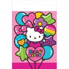 Hello Kitty Rainbow Plastic Table Cover 1.37m x 2.43m