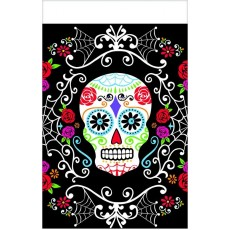 Halloween Day of the Dead Plastic Table Cover