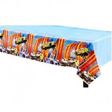 Hot Wheels Wild Racer Plastic Table Cover 1.37m x 2.43m
