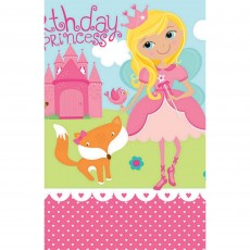 Woodland Princess Plastic Table Cover