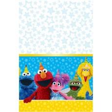 Sesame Street Plastic Table Cover 1.37m x 2.43m