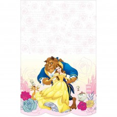 Beauty & the Beast Plastic Table Cover 1.37m x 2.43m
