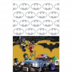 Lego Party Supplies - Plastic Table Cover Lego Batman