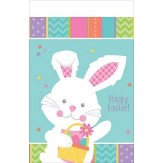 Easter Hippity Hop Plastic Table Cover