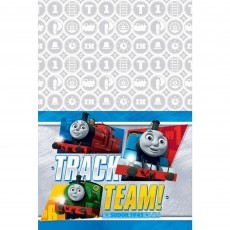 Thomas & Friends All Aboard Plastic Table Cover 1.37m x 2.43m