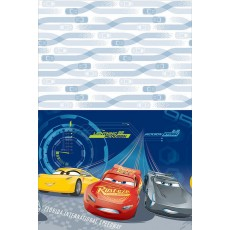 Disney Cars 3 Plastic Table Cover 1.37m x 2.43m