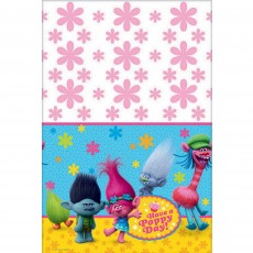 Trolls Have a Poppy Day! Plastic Table Cover 1.37m x 2.43m