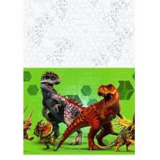 Jurassic World Plastic Table Cover 1.37m x 2.43m