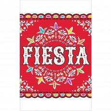 Mexican Fiesta Plastic Table Cover