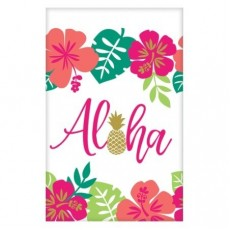 Hawaiian Paper Table Cover