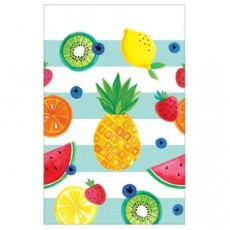 Hawaiian Hello Summer Plastic Table Cover