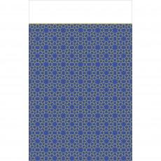 Moon & Stars Plastic Table Cover 1.37m x 2.59m