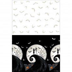 Halloween Nightmare Before Christmas Plastic Table Cover