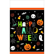 Halloween Hallo-ween Friends Plastic Table Covers
