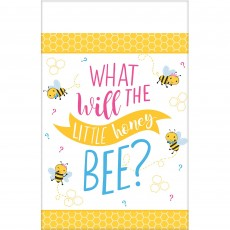 What Will It Bee? Paper Table Cover 1.37m x 2.59m