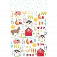 Barnyard Plastic Table Cover