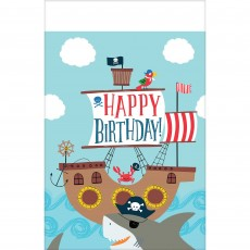 Ahoy Party Supplies - Plastic Table Cover