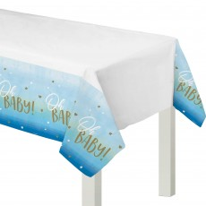 Oh Baby Boy Oh Baby! Plastic Table Cover 137cm x 259cm