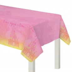 Disney Princess Once Upon A Time Plastic Table Cover