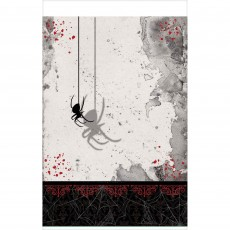 Halloween Dark Manor Plastic Table Cover