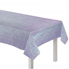 Sparkling Sapphire Party Supplies - Table Cover Dazzler