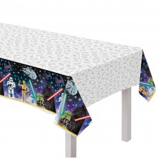 Star Wars Party Supplies - Plastic Table Cover Galaxy