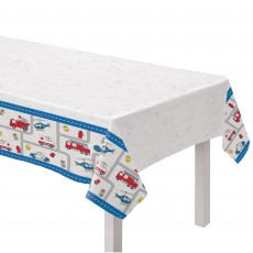 First Responders Party Supplies - Paper Table Cover