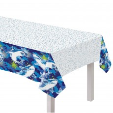 Shark Splash Party Supplies - Paper Table Cover