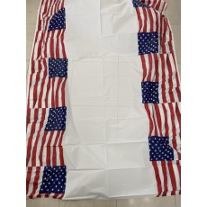 USA Flying Colours Plastic Table Cover