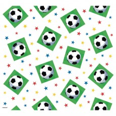 Soccer Fan Plastic Table Cover 1.37m x 2.59m