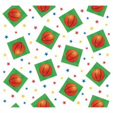 Basketball Fan Plastic Table Cover 1.37m x 2.59m