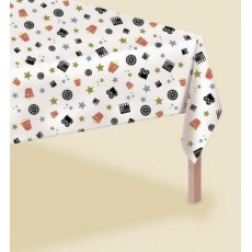 Hollywood Popcorn Plastic Table Cover 1.37m x 2.59m