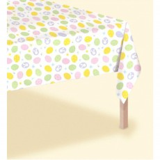 Easter Eggstravaganza Plastic Table Cover