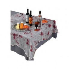 Halloween Party Supplies - Table Covers - Bloody Gauze