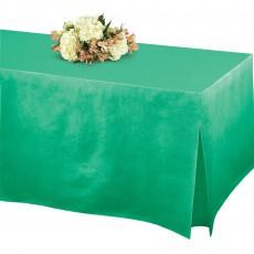 Robin's Egg Blue Flannel-Backed Tablefitter Table Cover 1.8m x 78cm x 68cm