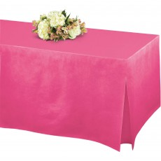 Red Apple Flannel-Backed Tablefitters Table Cover