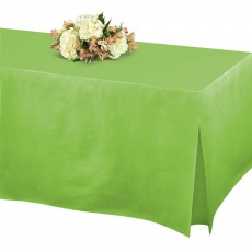 Green Kiwi Flannel Backed Tablefitters Table Cover