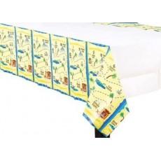 Pirate's Treasure Paper Table Cover 1.37m x 2.59m