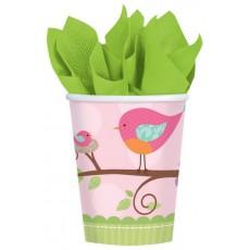 Tweet Baby Girl Paper Cups