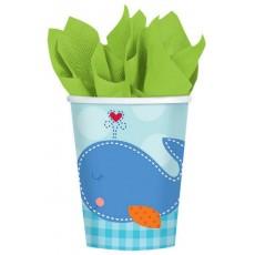 Ahoy Baby Boy Paper Cups