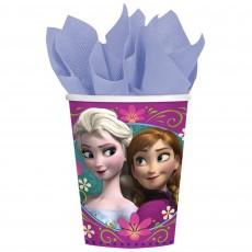 Disney Frozen Paper Cups 266ml Pack of 8