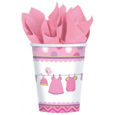 Shower with Love Girl Paper Cups