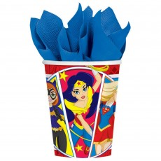 Super Hero Girls Party Supplies - Paper Cups