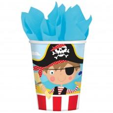 Pirate's Treasure Little Pirate Paper Cups