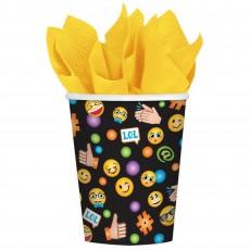 Emoji LOL Smiley Faces Paper Cups